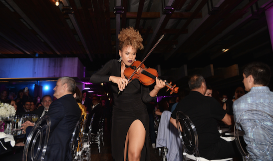 Ezinma delights the crowd / Photo Credit: Getty Images for Haute Living