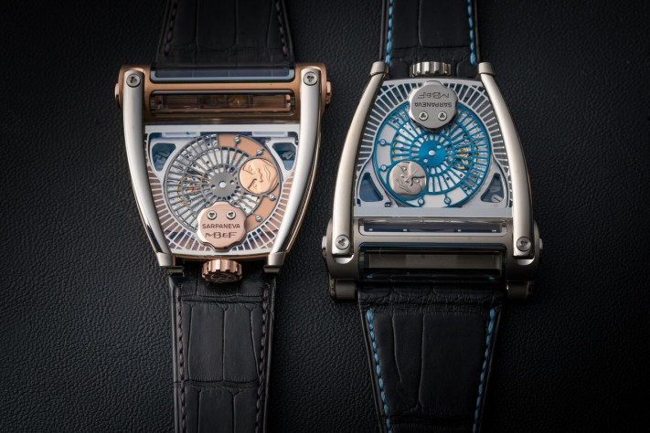 SIHH 2018: MB&F And Sarpaneva Dream Up The MoonMachine 2
