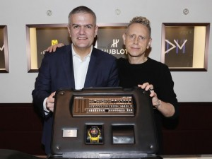 "Hublot And Depeche Mode Debut ""The Singles"" Collector's Edition In Support Of Charity: Water"
