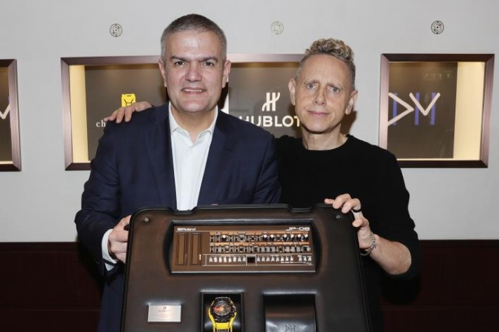 """Hublot And Depeche Mode Debut """"The Singles"""" Collector's Edition In Support Of Charity: Water"""