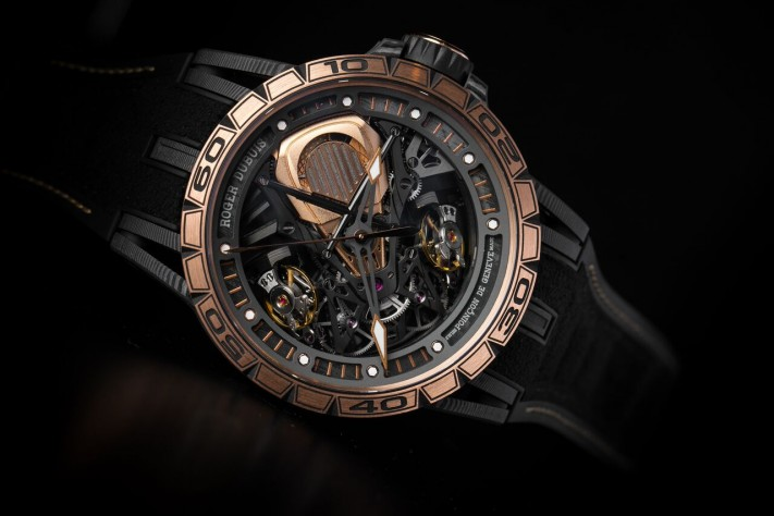 SIHH 2018: Roger Dubuis Introduces Fast New Versions In Partnership with Lamborghini & Pirelli