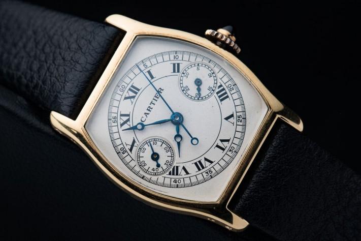 Throwback Thursday: 1920's Cartier Tortue Monopoussoir