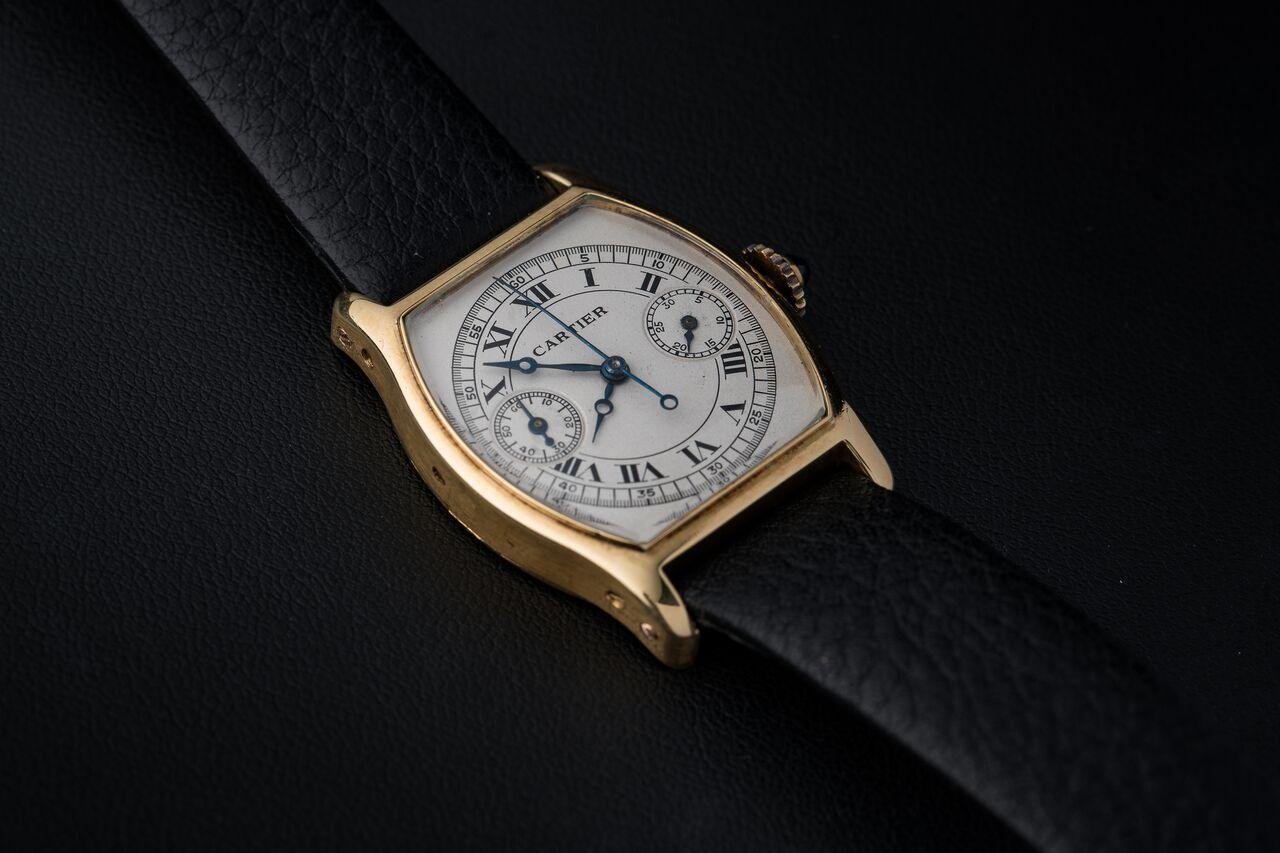 Cartier Tortue Monopusher
