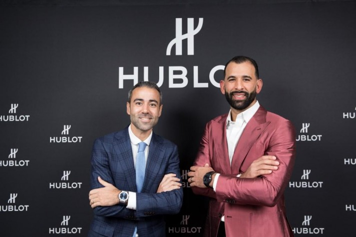 Hublot And Canadian Baseball Legend Jose Bautista Create Special Classic Fusion Watch