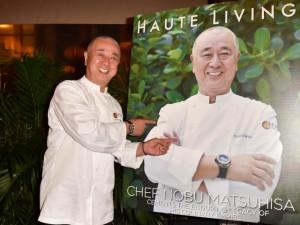 Inside Haute Living And Hublot's Exclusive Dinner Honoring Nobu Matsuhisa During SOBEWFF