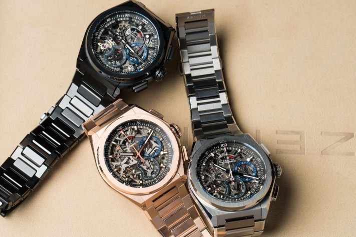 Zenith Adds Bracelets, Rose Gold, And Diamonds To The Defy El Primero 21 Collection