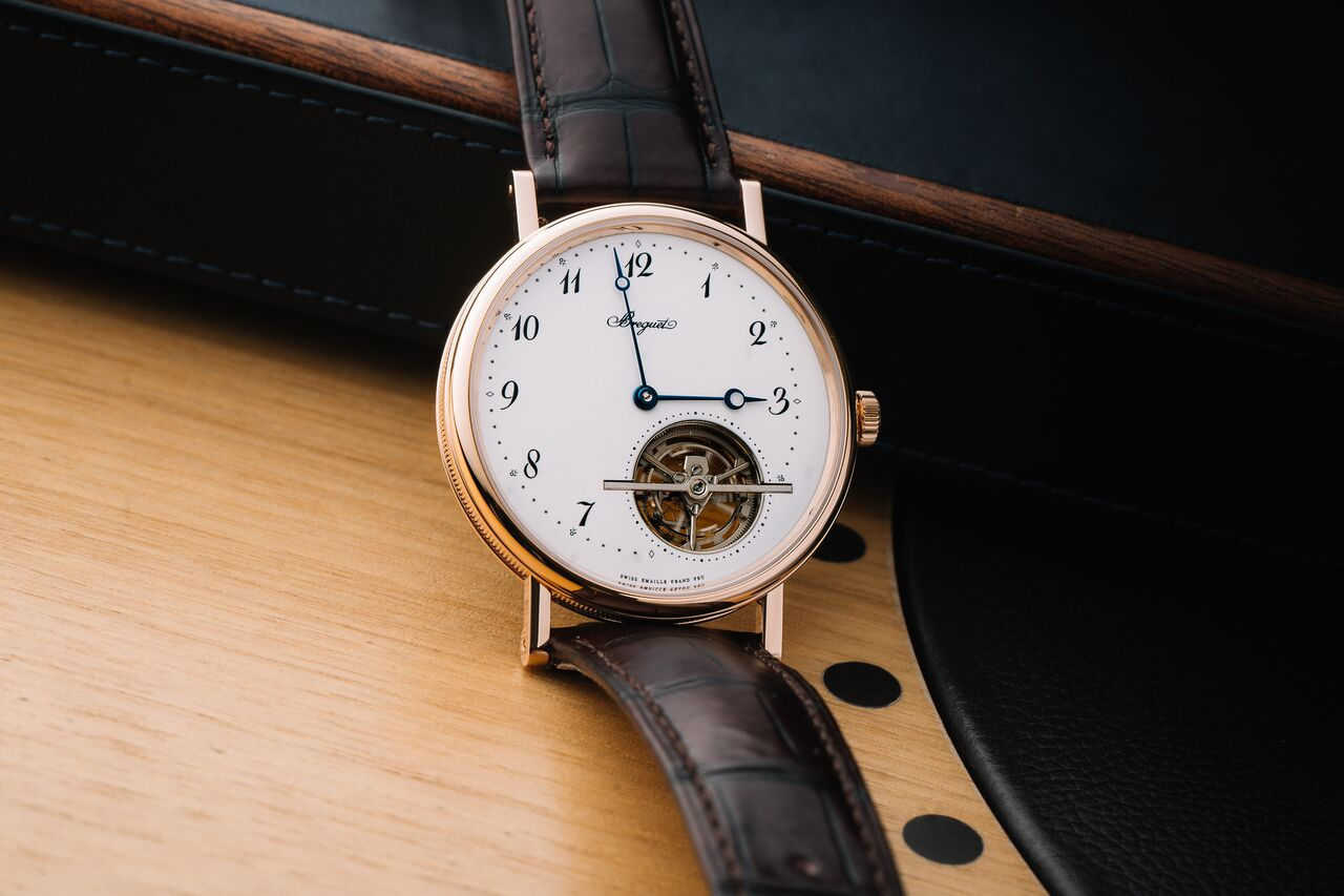 It was Abraham-Louis Breguet who invented the tourbillon