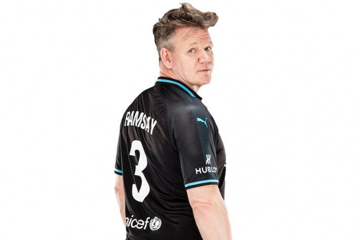 Gordon Ramsay Joins Soccer Aid World XI Match, Led By Usain Bolt In Partnership With Hublot And Puma