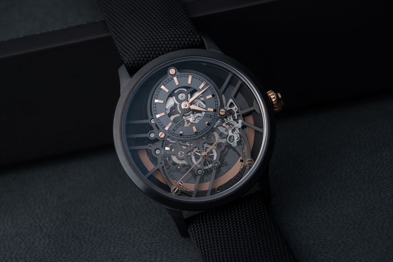 Jaquet Droz Ceramic Skeleton