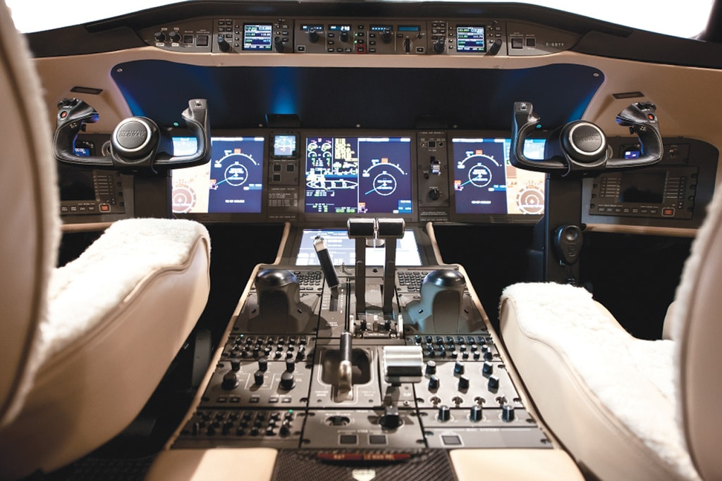 11.Bombardier_Global_6000_cockpit - Haute Living - United States-min