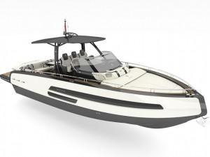 Anna Fendi Designs Invictus' New 370 GT Special Edition Yacht