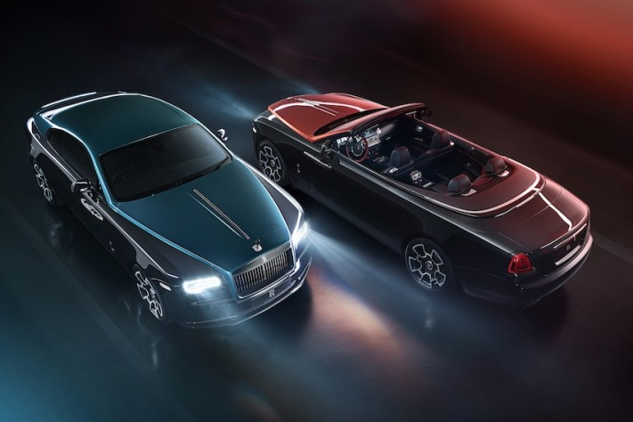 Rolls-Royce Launches Limited Adamas Black Badge Collection With 40 Wraiths & 30 Dawns