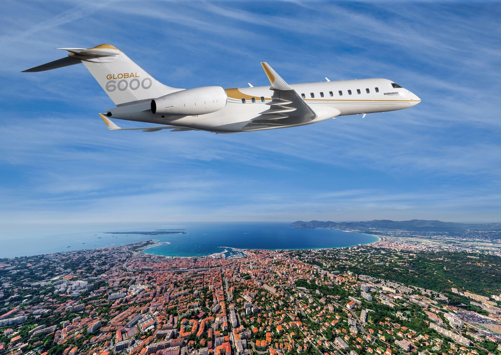 6.Bombardier_Global_6000_aerial - Haute Living - United States-min
