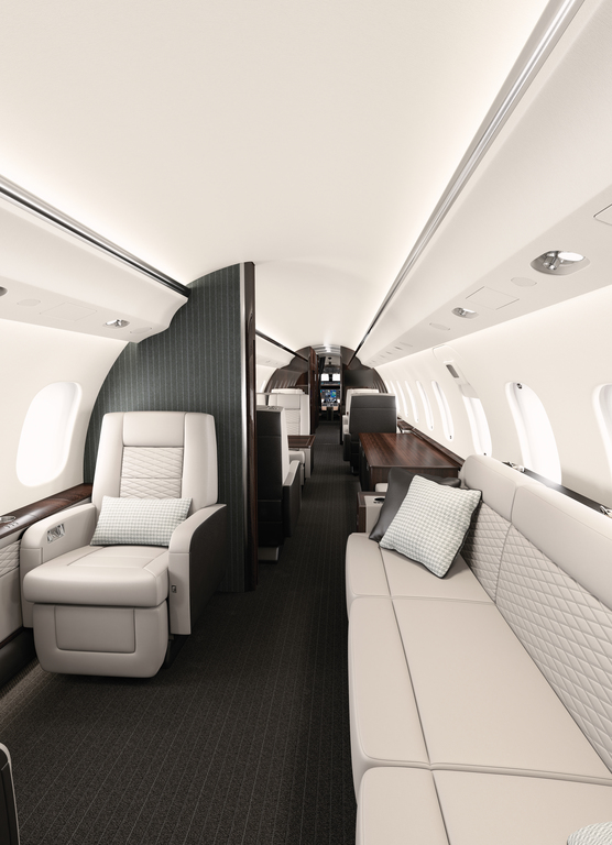 8.Bombardier_Global_6000_cabin - Haute Living - United States