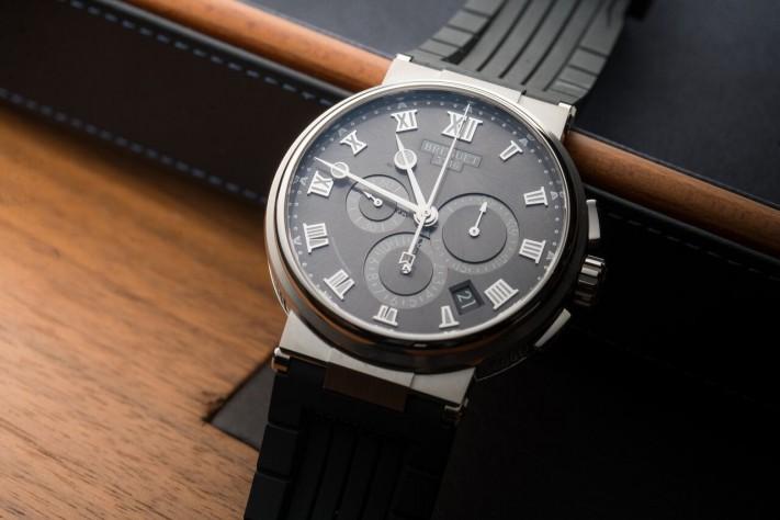 Watch of the Week: Breguet Marine Chronograph 5527