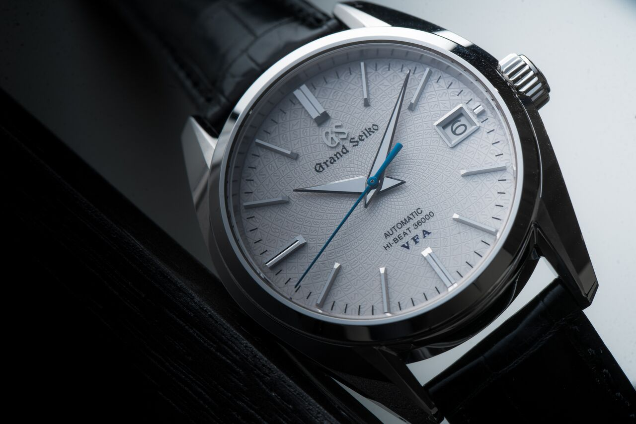 Grand Seiko recently added a beautiful platinum watch to their collection