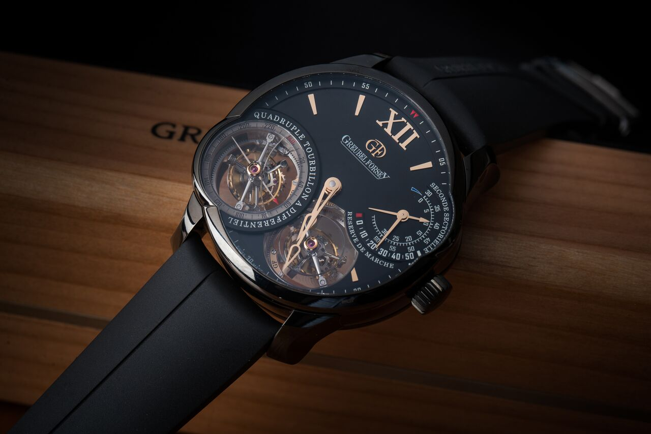 Greubel Forsey Quadruple Tourbillon Black