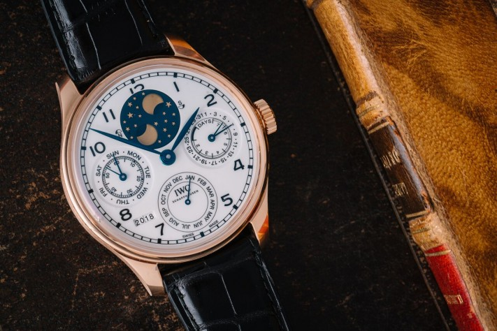 "Haute Complication: IWC Portugieser Perpetual Calendar Edition ""150 Years"""