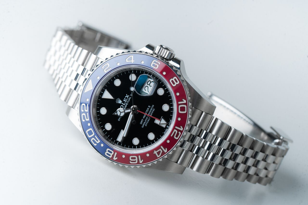 The watch of last years edition that people are still talking about: Rolex GMT-Master II