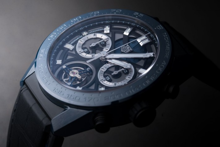 "Haute Complication: TAG Heuer Carrera ""Tete de Vipere"" Chronograph Tourbillon Chronometer"