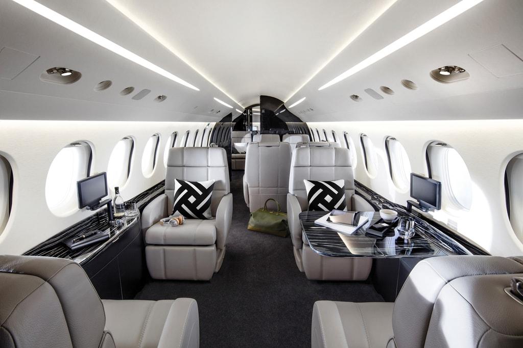 10.Dassault_Falcon 8X_cabin - Haute Living - United States-min