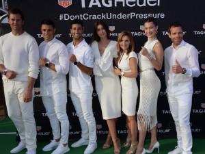 TAG Heuer's White Party On Seadream Yacht During Monaco Grand Prix With Tom Brady, Bella Hadid & Daniel Ricciardo