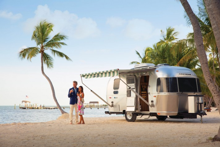 """Airstream Special Edition Tommy Bahama Travel Trailer: """"It's Better to Wear Out Than to Rust Out"""""""