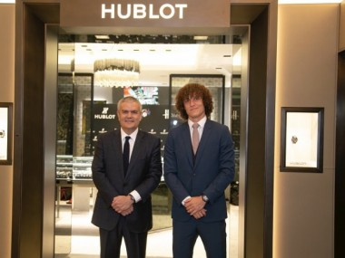David Luiz Becomes Hublot's New Friend Of The Brand