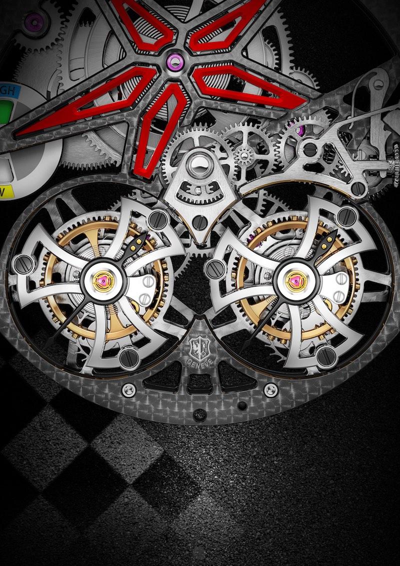 Roger Dubuis Excalibur Spider Pirelli Double Tourbillon