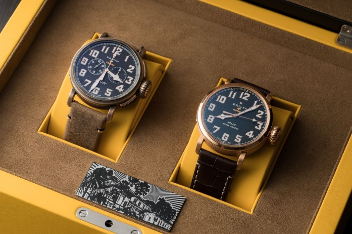 Zenith's Smokin' Hot Pilot Type 20 Cohiba Maduro 5 Editions