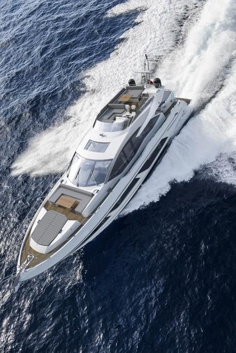 74 Sport Yacht created by Sunseeker International /  Photo Credit: Sunseeker International