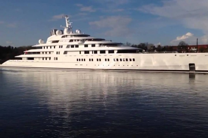 Five Of The World's Most Iconic Luxury Superyachts