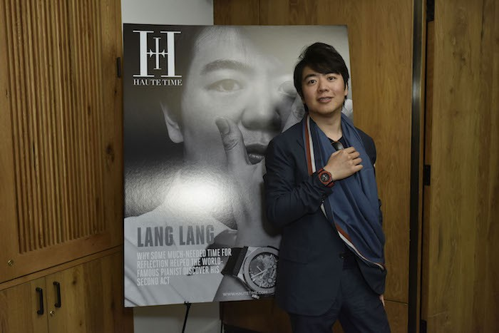 Inside Haute Time's Lang Lang Cover Celebration At 1 Hotel Central Park