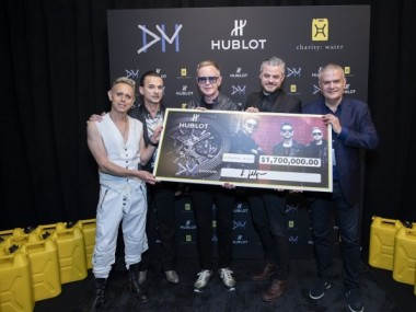 Hublot And Depeche Mode Raise Over $1.7 Million For Charity: Water