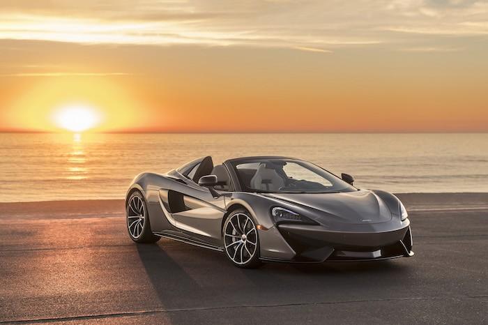 McLaren Donates A Bespoke 570S Spider To Elton John's AIDS Foundation's Argento Ball 2018