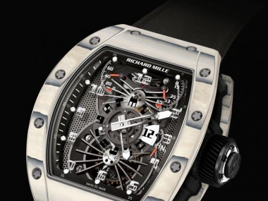 Richard Mille Unveils Aerospace-Inspired RM 022 Dual Time Zone Series In Red, White And Blue