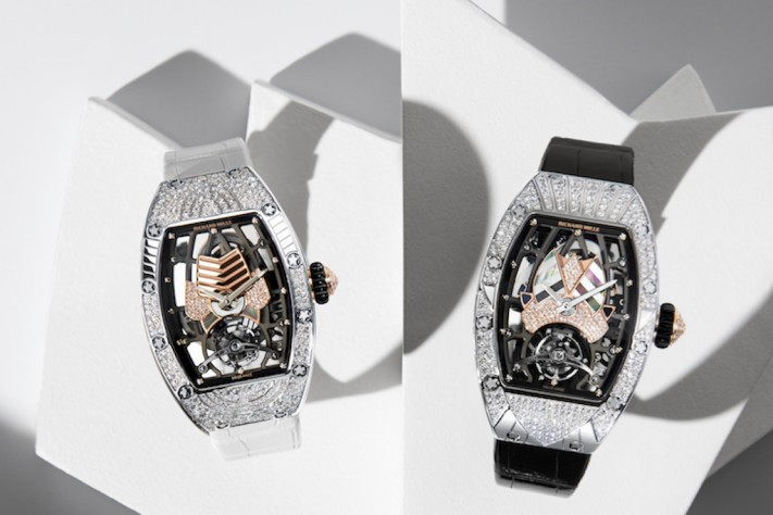Richard Mille Enters Haute Joaillerie Watchmaking Space With RM 71-01 Automatic Tourbillon Talisman Women's Collection