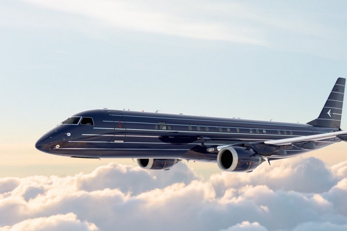 Embraer's Manhattan Airship Is At Once Art Deco And Modern