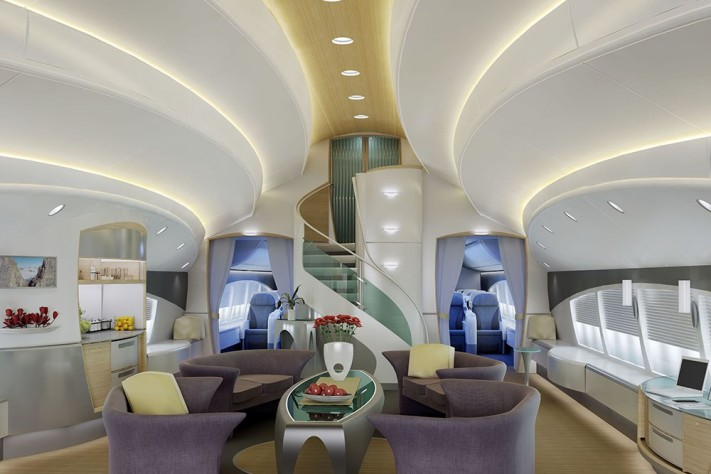 Inside Private Luxury Jets With Custom-Made Interiors Worth Mega Millions