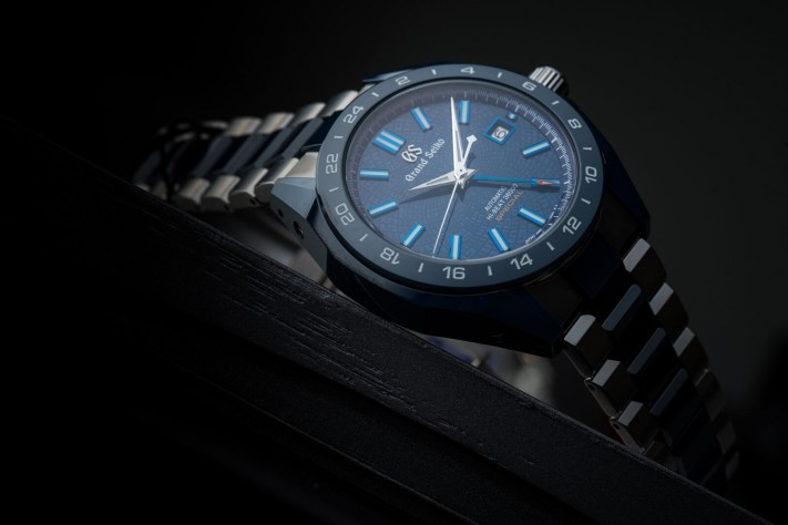 "Watch of the Week: Grand Seiko Blue Ceramic Hi-beat GMT ""Special"" Limited Edition"