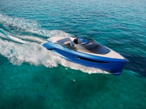 Pininfarina Designs First Princess R Class Performance Sports Yacht