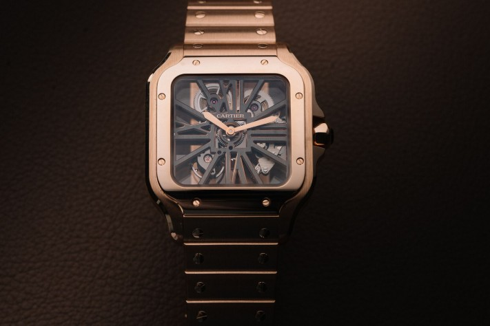 Watch of the Week: Santos de Cartier Skeleton