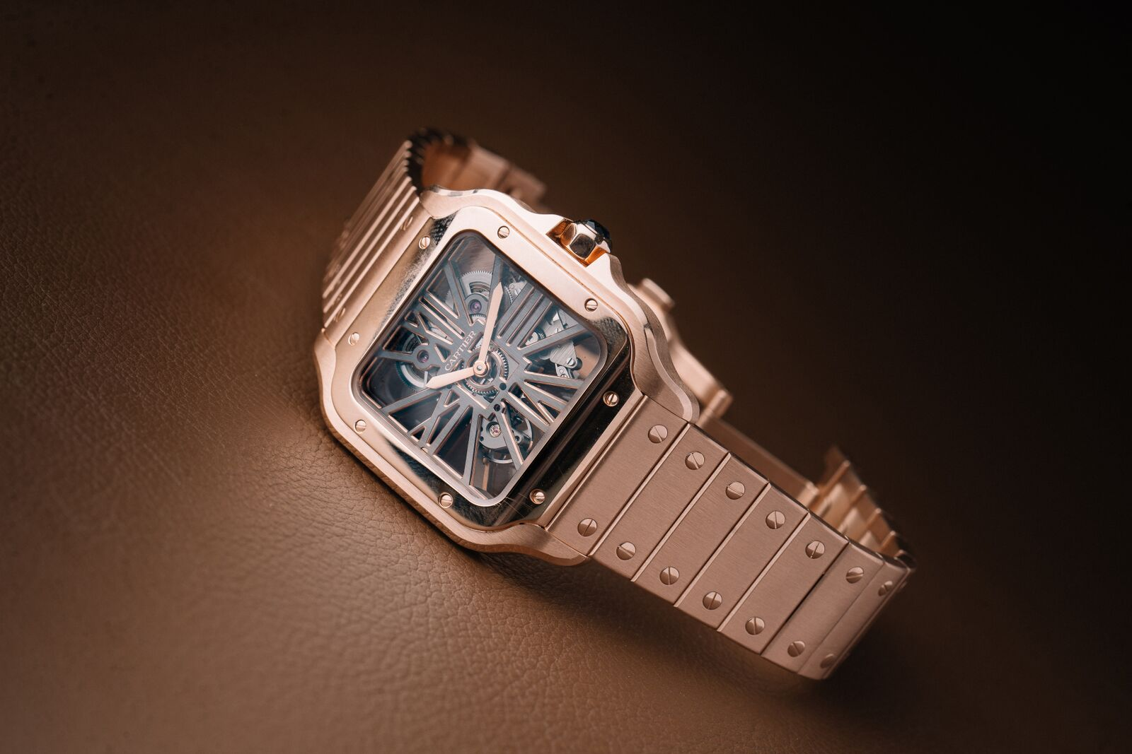 Santos de Cartier Skeleton