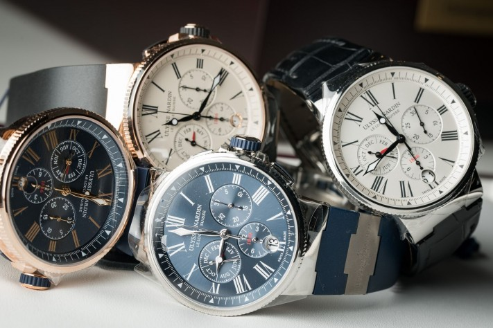 Watch of the Week: Ulysse Nardin Marine Chronograph