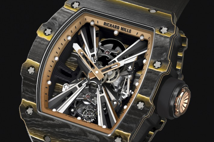 Richard Mille Draws Inspiration From The Archives For Its New RM 12-01 Tourbillon