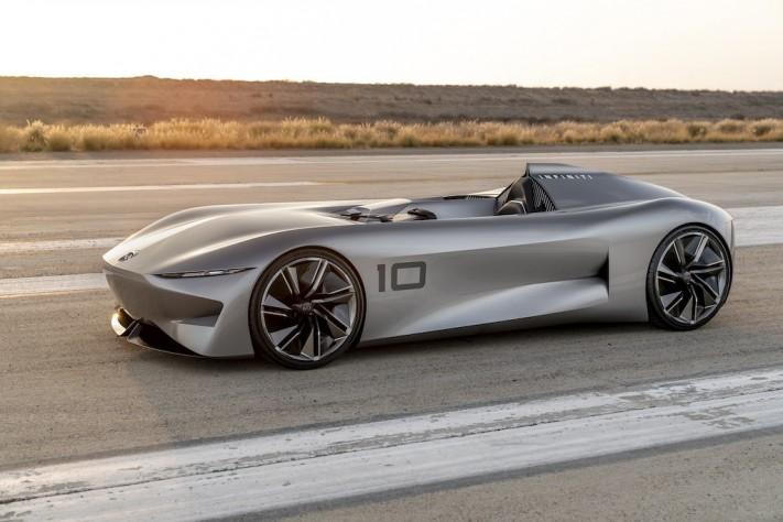 INFINITI Unveils Speedy Prototype 10 At Pebble Beach Concours D'Elegance