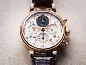Haute Complication: IWC Da Vinci Perpetual Calendar Chronograph
