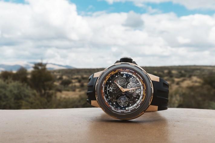 On Safari In Namibia With The Richard Mille RM 58-01 Tourbillon World Timer Jean Todt