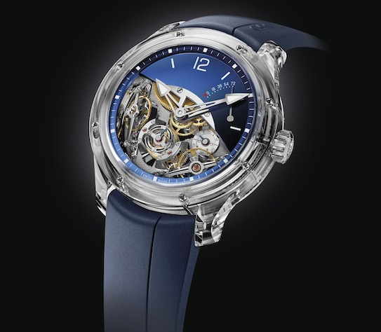 Greubel Forsey Launches Double Balancier Sapphire In North America For $695,000