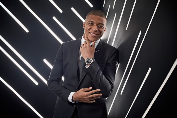 Hublot Signs New Brand Ambassador Kylian Mbappé In Another Epic Sports Star Partnership